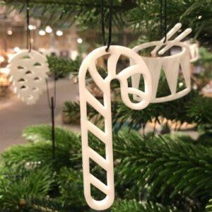 Moderne julepynt